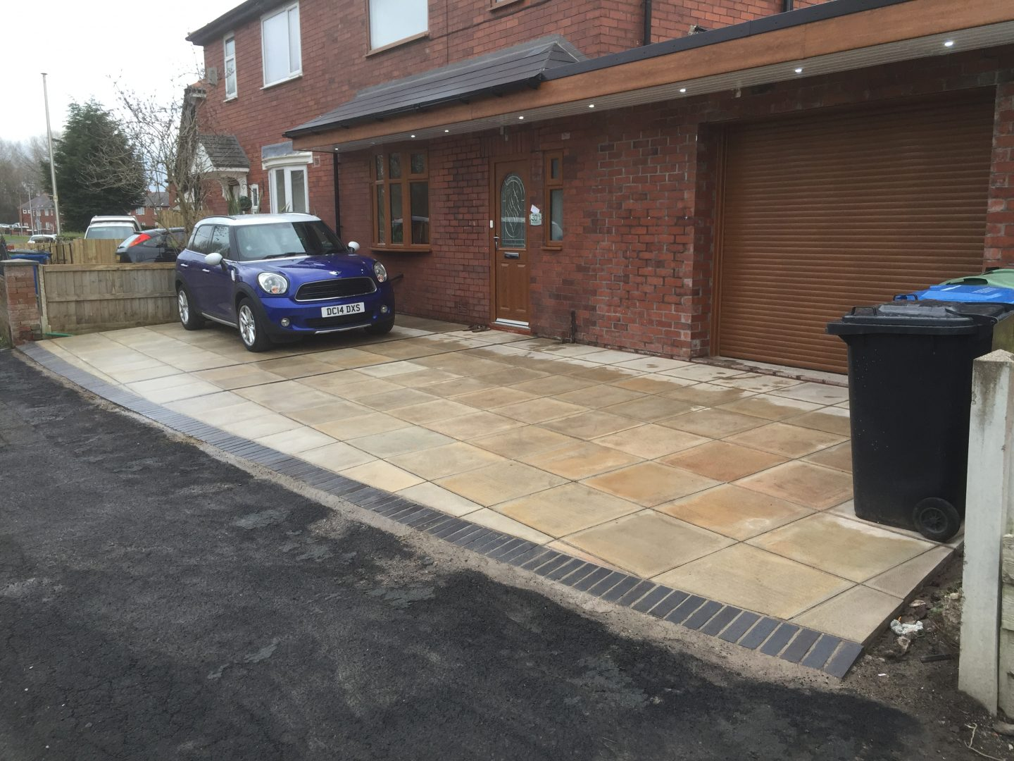 Driveway & Canopy with lights